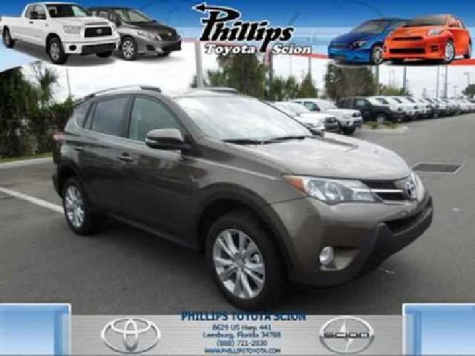 $28,423 2013 Toyota RAV4 LIMITED