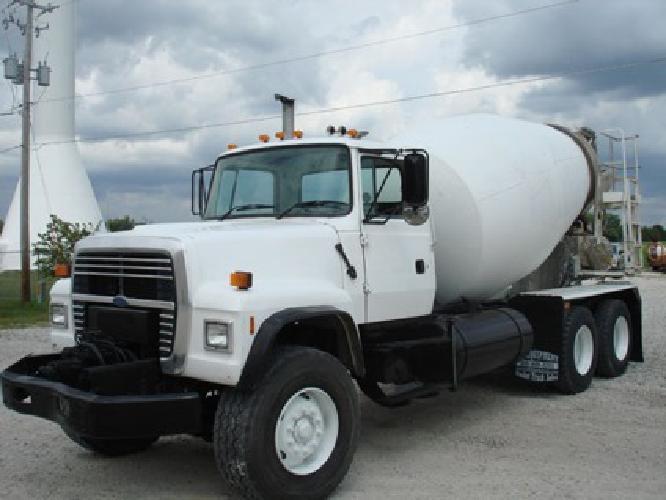 $28,650 1997 Ford LT8000 Concrete Truck
