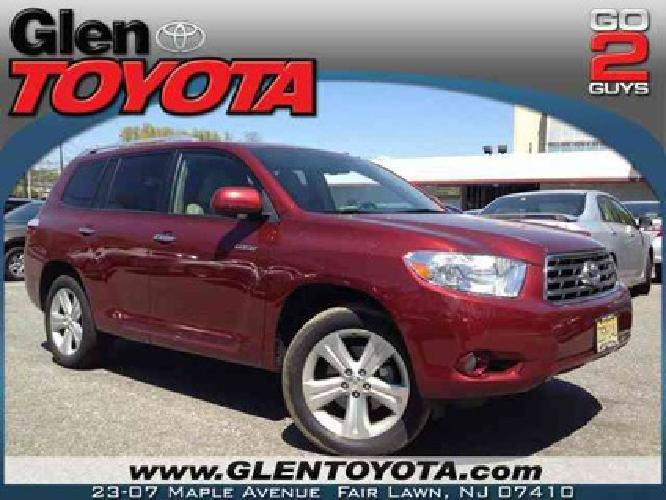 28 901 2010 toyota highlander limited v6 4wd suv for sale in fair lawn new jersey classified. Black Bedroom Furniture Sets. Home Design Ideas