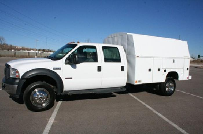 Acura  Forum on 28 990 2006 Ford F550 4x4 Crew Cab Service Utility Truck For Sale