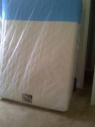 290 brand new full size mattress box spring and frame still in plastic for sale in browns. Black Bedroom Furniture Sets. Home Design Ideas
