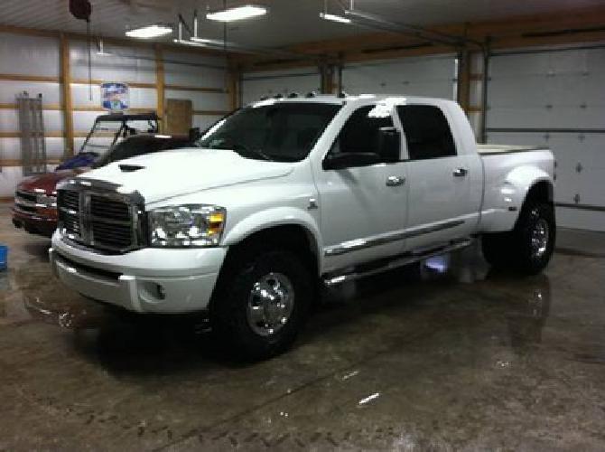 $29,000 2008 Dodge Ram 3500 Mega Cab Laramie 4x4 Diesel