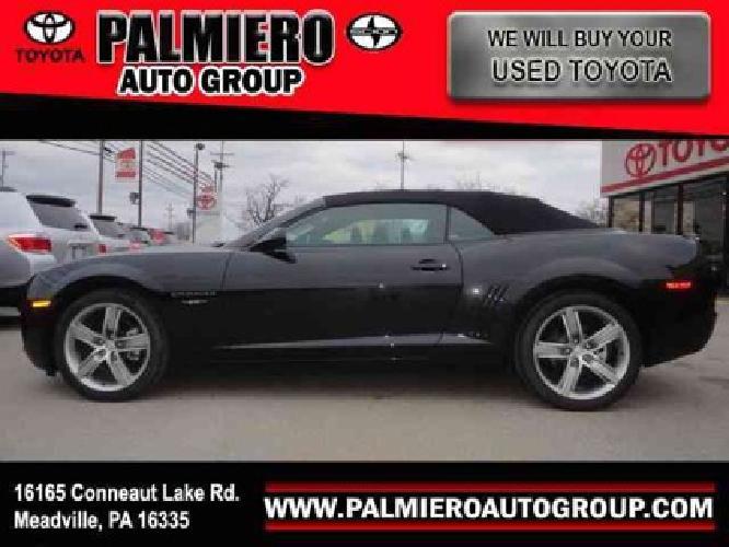 $29,898 2012 Chevrolet Camaro 2LT