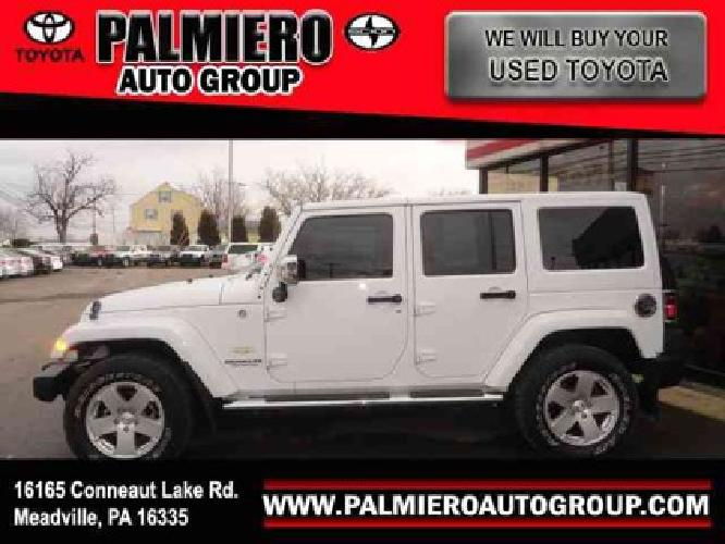 $29,949 2011 Jeep Wrangler Unlimited Sahara