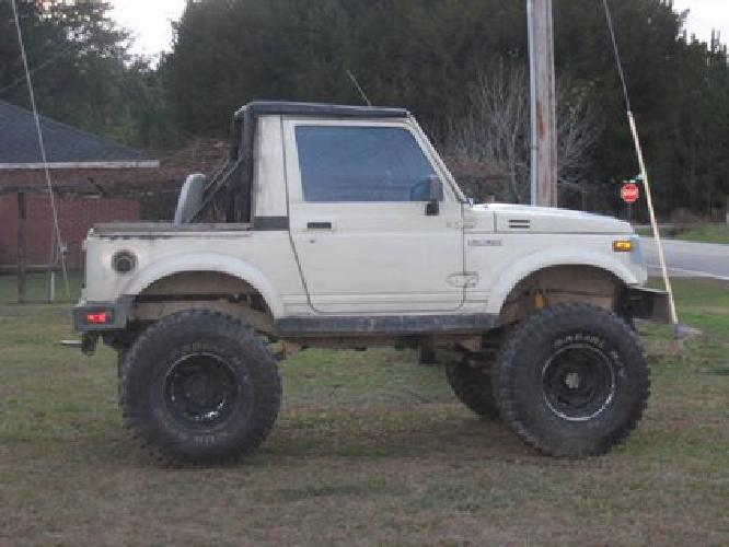 $2,000 1987 Suzuki Samurai lifted 4wd for sale in Loris ...  $2,000 1987 Suz...