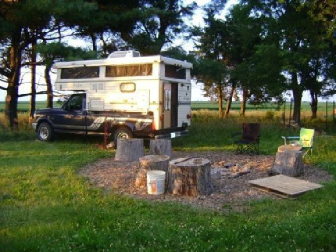 $2,000 1992 Sun-Lite Pop-Up Truck Camper for sale in Savoy, Illinois