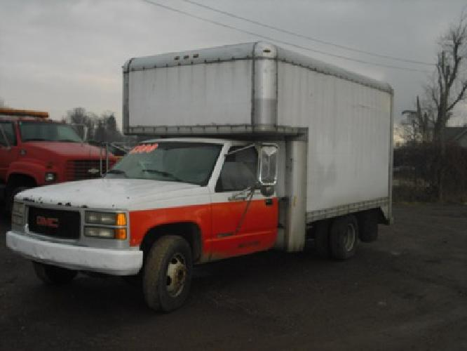 2 000 1994 gmc box truck for sale in columbus ohio classified. Black Bedroom Furniture Sets. Home Design Ideas
