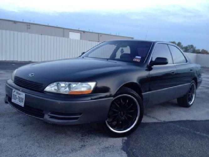 2 000 obo 1994 lexus es 300 2000 obo for sale in dallas. Black Bedroom Furniture Sets. Home Design Ideas