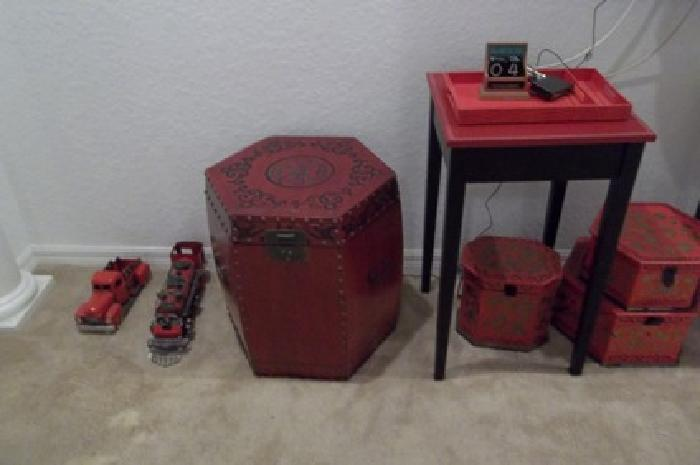 $2,000 OBO Red Decor Collection