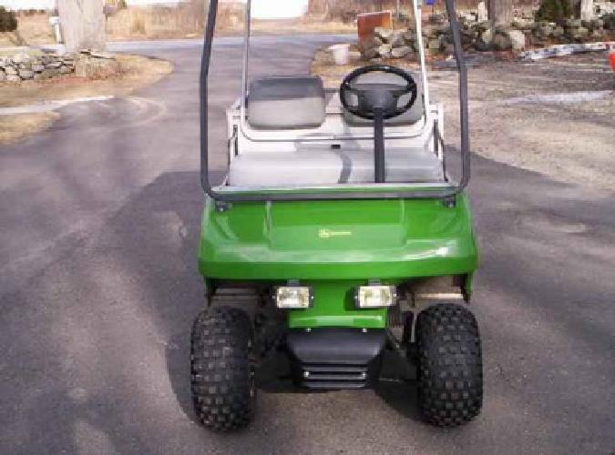 2 150 Golf Cart Club Car Gas Powered John Deere Lookalike