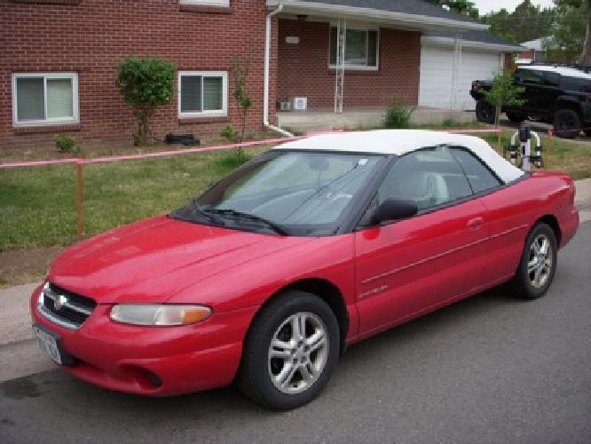 $2,150 OBO 1997 Chrysler Sebring JX