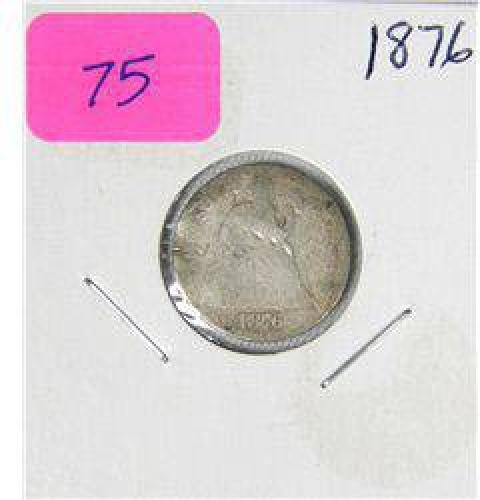$2 1876 Seated Liberty Dime