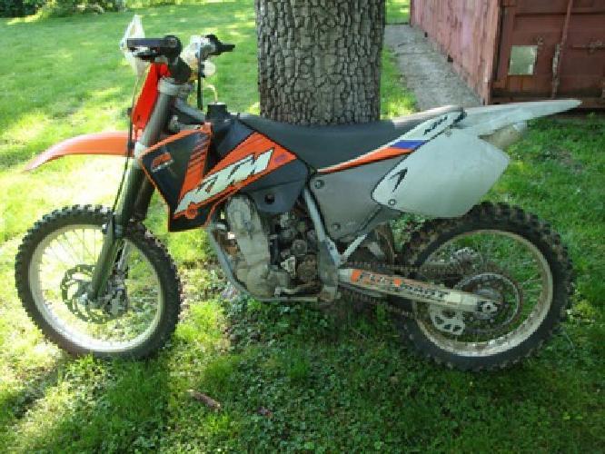 2 200 obo2001 ktm 525 sx dirt bike for sale in jacksonville illinois