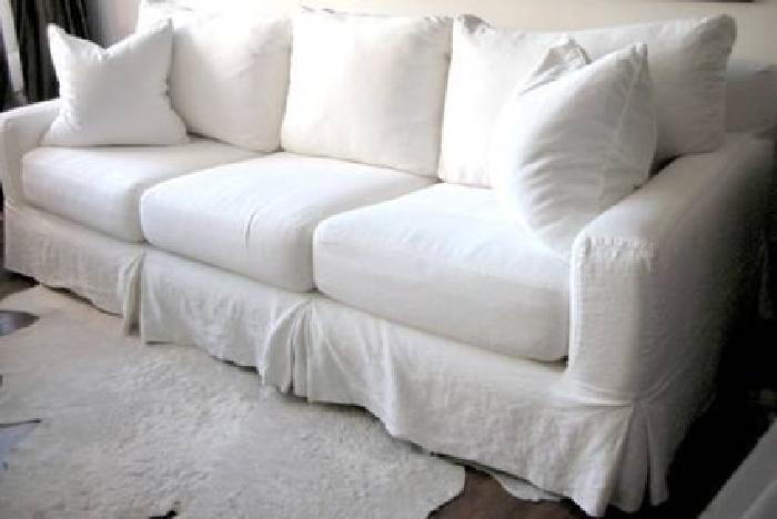 2200 slipcovered sofa washable quatrine furniture for Sofa couches gold coast