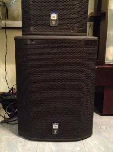 $2,250 Jbl Prx 618 Xlf Pair + Cover S2,250 [phone removed]