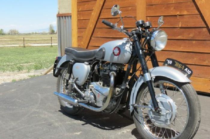 $2,350 1959 Bsa A10 Goldenflash