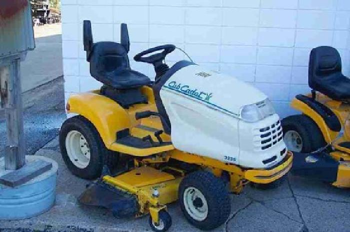 Cub Cadet Lt1045 Riding Mower Pictures to Pin on Pinterest