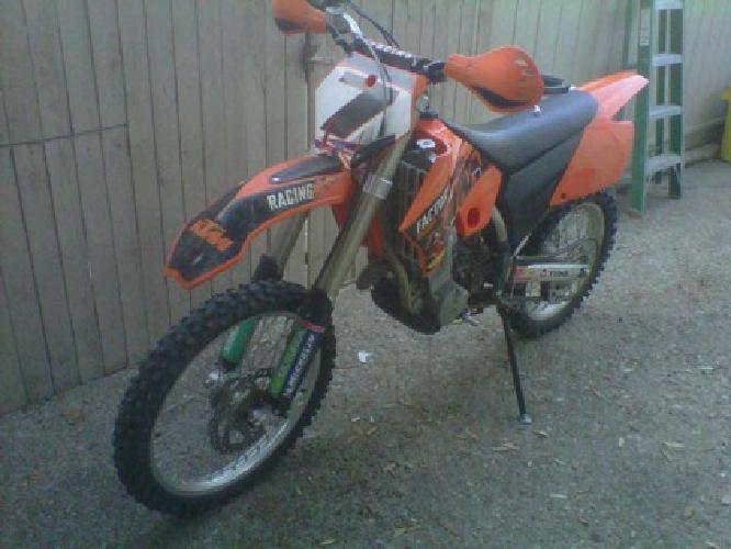 $2,400 2005 Ktm 450 Sxf