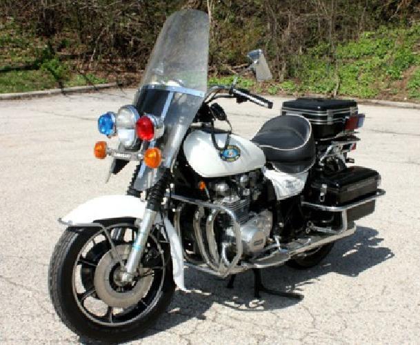 $2,400 78 Kawasaki Kz1000 Authentic Police Bike for sale in Chicago