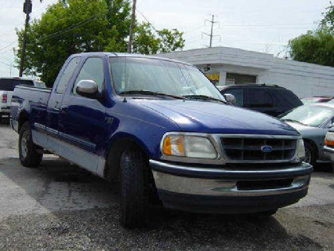 $2,495 97 Ford F-150 Blue Extended Cab