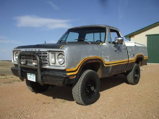 $2,500 1978 Dodge Power Wagon
