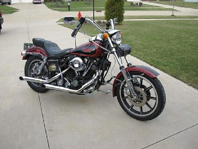 2500 1981 Harley Davidson FXS Lowrider Shovelhead