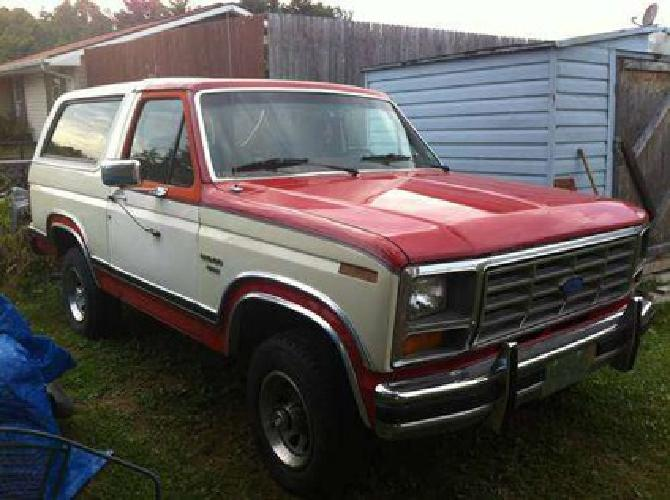 2 500 1986 ford bronco for sale in beckley west virginia classified. Black Bedroom Furniture Sets. Home Design Ideas