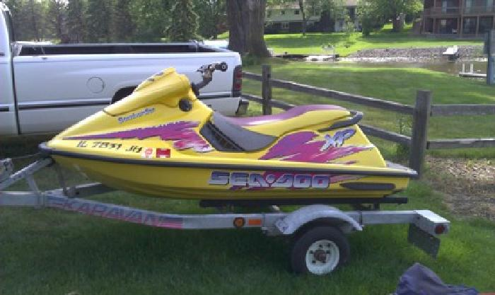 2 500 1996 bombardier seadoo xp for sale in mchenry illinois classified. Black Bedroom Furniture Sets. Home Design Ideas
