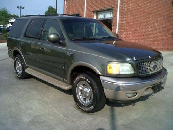 2 500 2001 ford expedition eddie bauer green auto for. Black Bedroom Furniture Sets. Home Design Ideas
