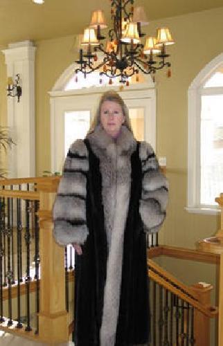 Mink Fox Fur Coat Coat Nj