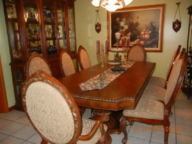 2 500 dining room set 10 pc for sale in miami florida classified - Dining room sets miami ...
