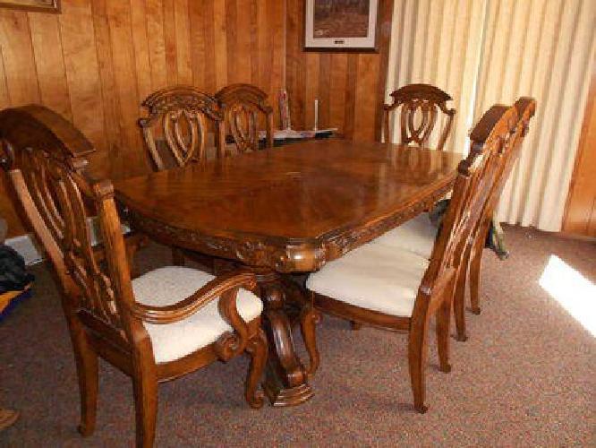 2 500 gorgeous aico amini royal oak dining room table 6