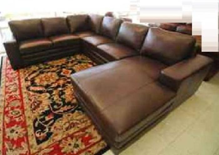 2 500 New European Style Sectional With Large Chaise