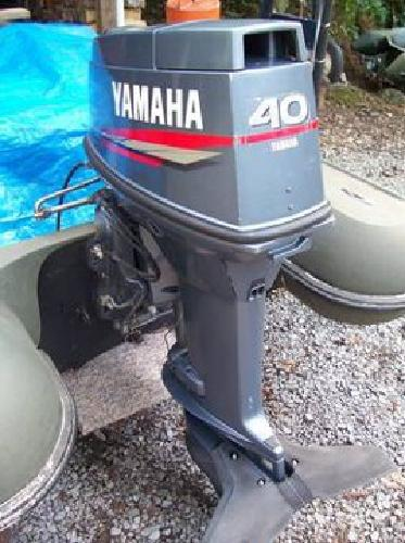 2 500 yamaha 40hp outboard motor for sale in bristol for Motor city powersports hours