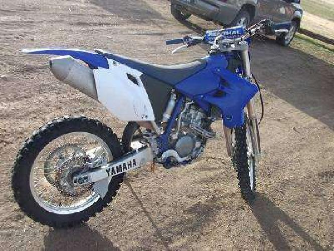 $2,550 2005 yamaha WR250F very clean, runs great and looks great.