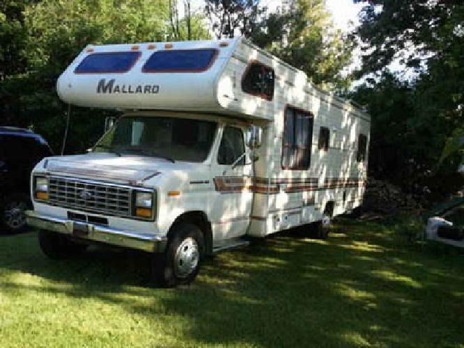 $2,700 1987 Ford Mallard E350 Motorhome- All New Interior
