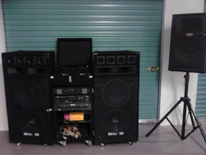 2 750 complete pro dj equipment set up for sale in hollywood florida classified. Black Bedroom Furniture Sets. Home Design Ideas