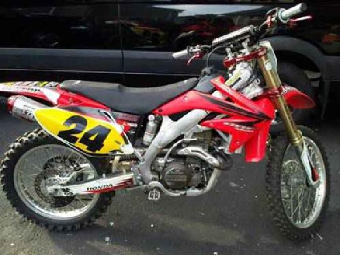 2 800 07 honda crf450 for sale in union new jersey for Honda union nj