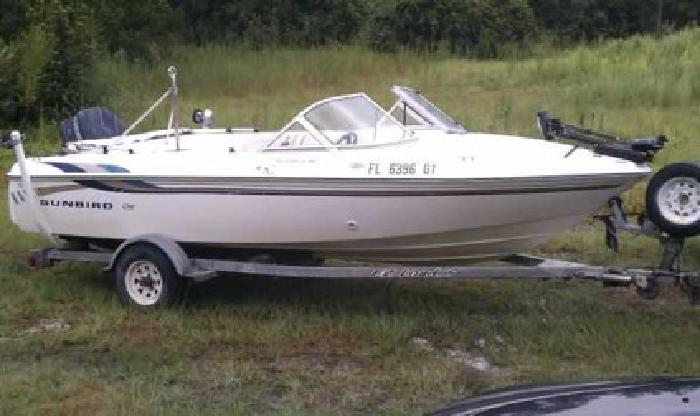 2 800 1996 Sunbird Fish And Ski For Sale In Panama City