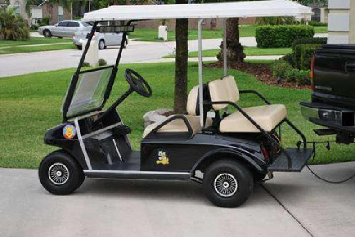 2 800 2001 Club Car Golf Cart 48 Volt With High Speed