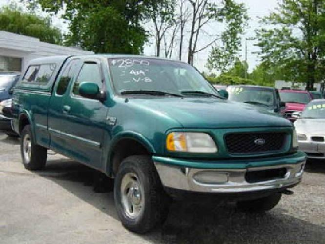 $2,800 98 Ford F-150 extended cab green
