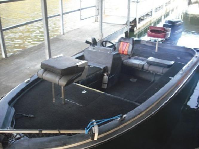 $2,900 1988 Tidecraft Bass boat 150 Mercury Motor trolling motor and trailer