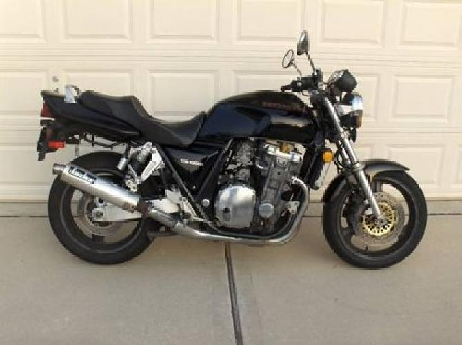 2 900 1994 honda cb1000 big one for sale in houston. Black Bedroom Furniture Sets. Home Design Ideas