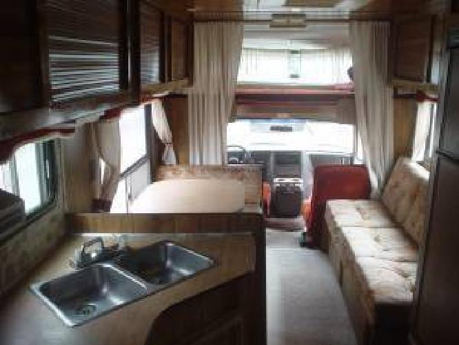 $2,900 CHEVY MOTORHOME-23ft ,1985 year with 75,000 miles & clean