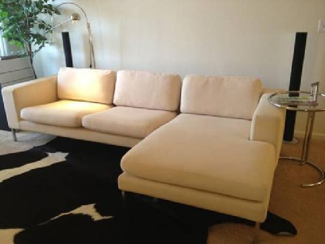 2900 Design Within Reach DWR Neo Sectional Sofa Couch Contemporary