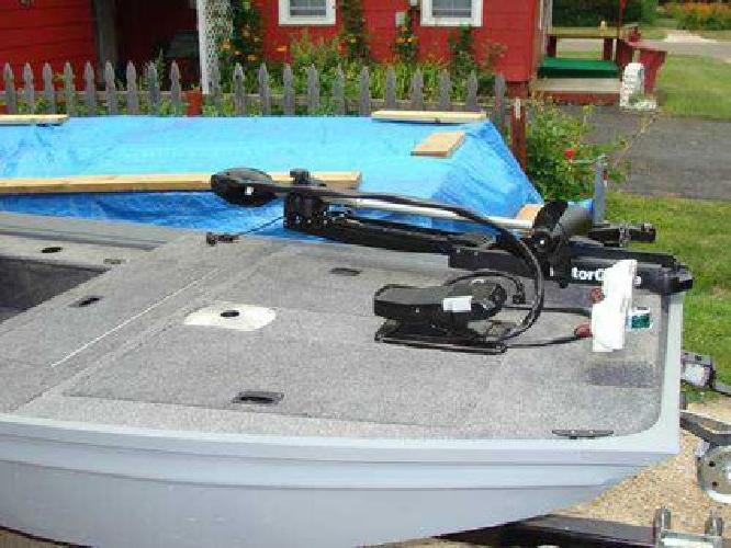 2 900 Polar Kraft Jon Boat Converted To Bass Boat W 5hp