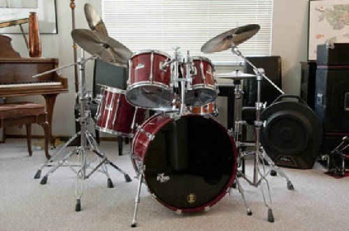 2 900 yamaha club custom drum set for sale in petaluma