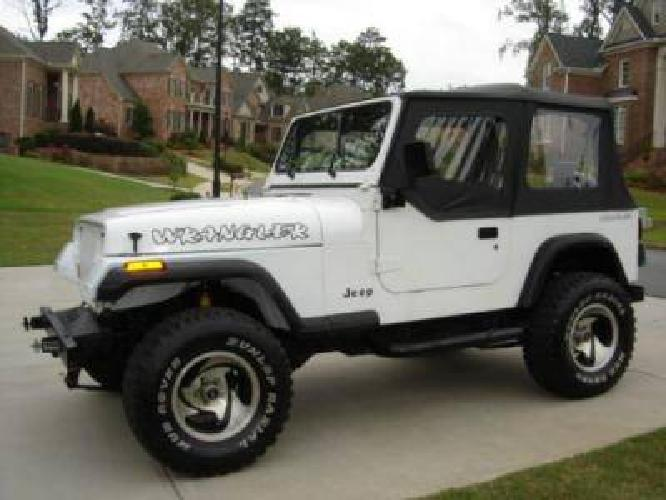 2 926 1995 jeep wrangler 4 cyl for sale in los angeles california classified. Black Bedroom Furniture Sets. Home Design Ideas