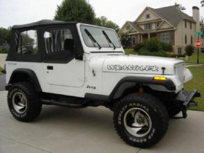 Lifted Jeep Wrangler for Sale