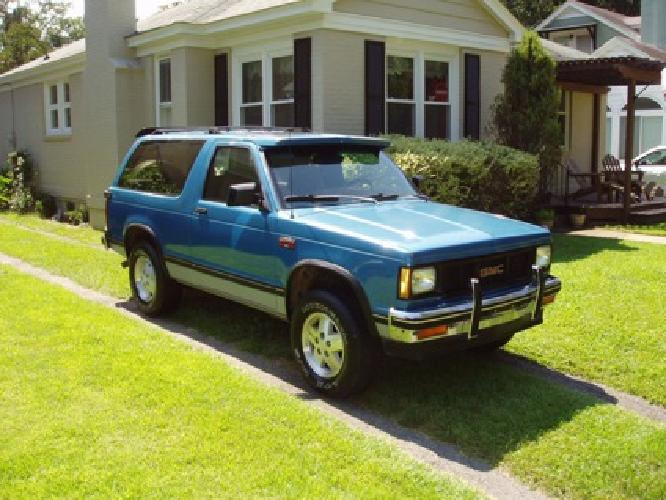 $2,950 1989 GMC S15 Jimmy Gypsy 4x4 for sale in Columbia